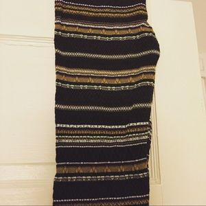 NWT vintage Free People textured knit leggings